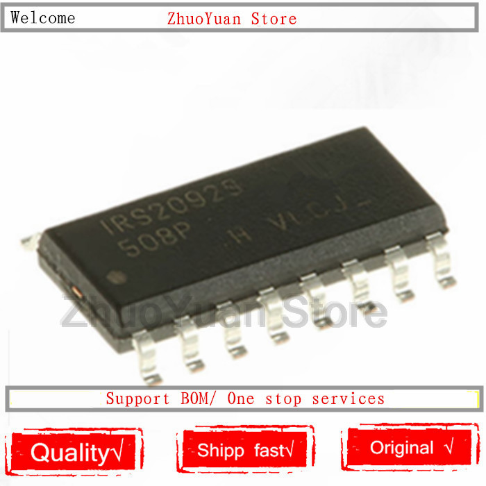 1PCS/lot IRS2092S Chip IRS2092STRPBF IRS2092SPBF IRS2092 SMD SOP16 SOP IC Chip New Original