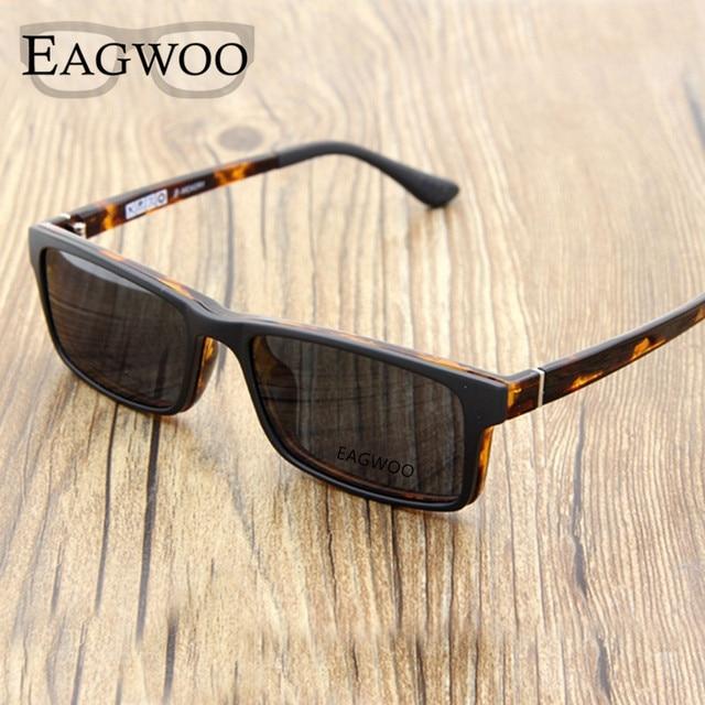 Magnet Eyeglasses Full Rim Optical Frame Prescription Spectacle Square Myopia Eye Glasses Sunglasses Anti Glare Anti UV 721088