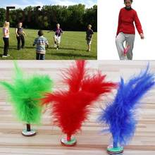 Forfar Colorful Feather Chinese Jianzi Foot Sports Toy Games Kicking Kick Shuttlecock(China)