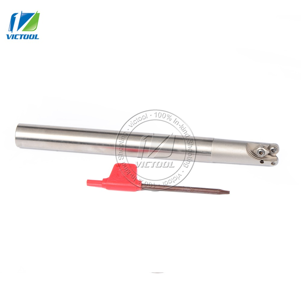 цены  Milling Cutter EMRC15*4R16*160*2T Bore Indexable Shoulder End Mill Arbor,Mill Cutting Tools, Insert of carbide inserts