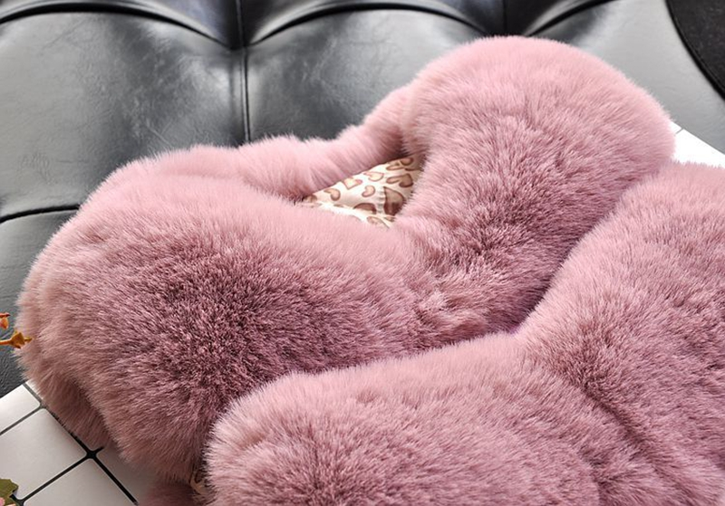 Kids Girls Faux Fur Vest Coats Winter Warm Waistcoat Sleeveless Children Fur Jacket Baby Girls Outwear Clothes TZ246