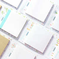 Domikee nette bunte büro schule sticky memo pad set schreibwaren, kawaii index sticky note pad, 11 arten, 60 teile/satz