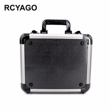 RCYAGO DJI Spark Bag Drone Storage box ABS Aluminum Case Fashion Drone Specialty Protective Hardshell Bag Drone Case Silver Box