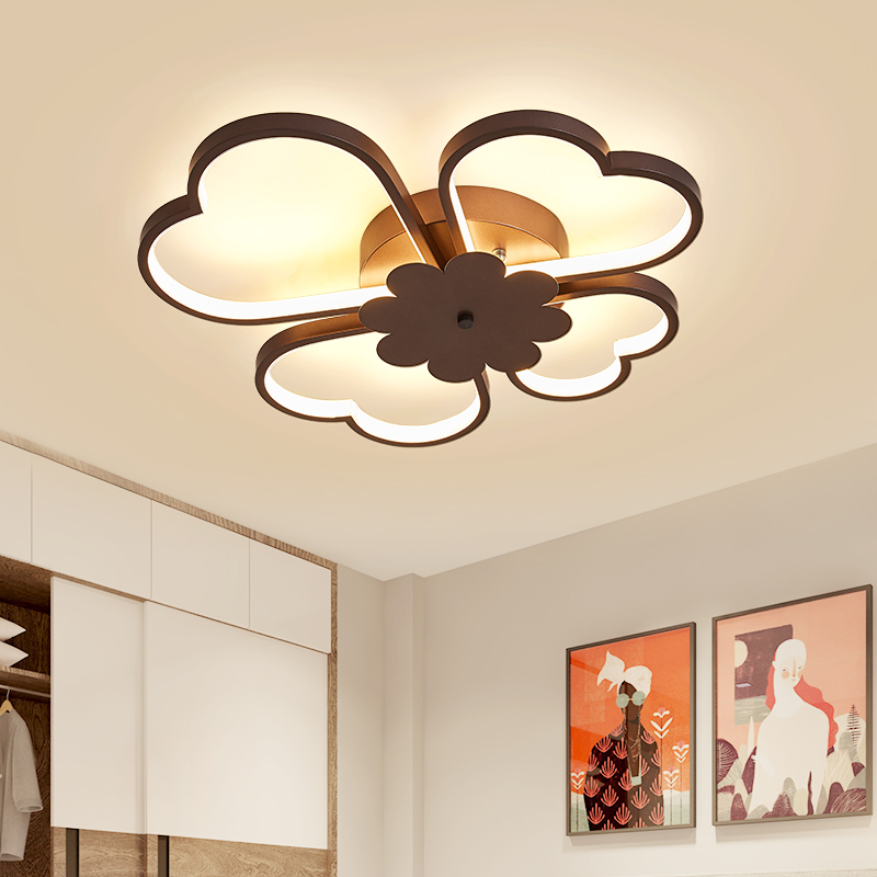 Fine New Acrylic Dimming Ceiling Lights For Living Studyroom Bedroom Home Dec Plafonnier Ac85-265v Modern Led Ceiling Lamp Home Decor Ceiling Lights & Fans