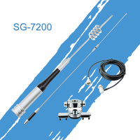 Antenna Package: Mobile Antenna Mount Kit SG7200 High Gain UHF/VHF Dual Band, Stainless Car Clip Mount For Mobile Car Radio