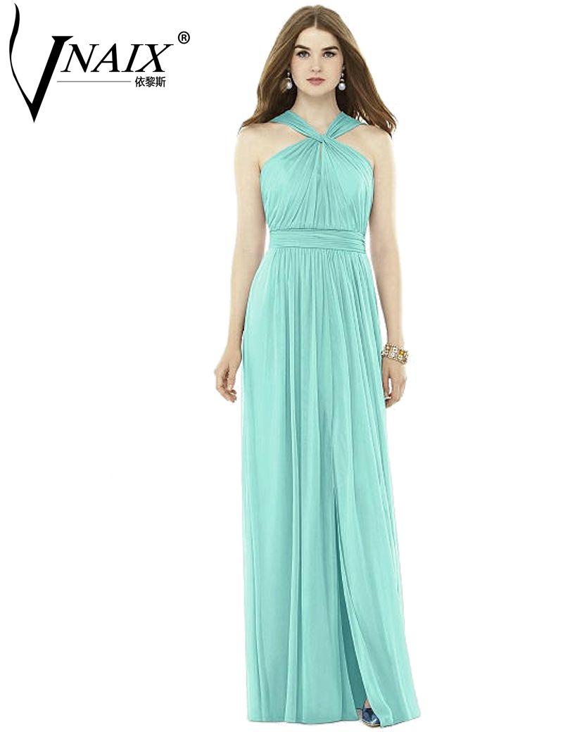 Compare prices on summer navy bridesmaid dresses online shopping zb55 navy halter bridesmaid dresses mint wholesale 2017 long chiffon wedding party gown summer maxi dress ombrellifo Gallery