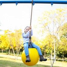 Большие качели мяч качели с толстой веревкой детский сад площадка открытый Крытый детей взрослых тренажерный зал качели
