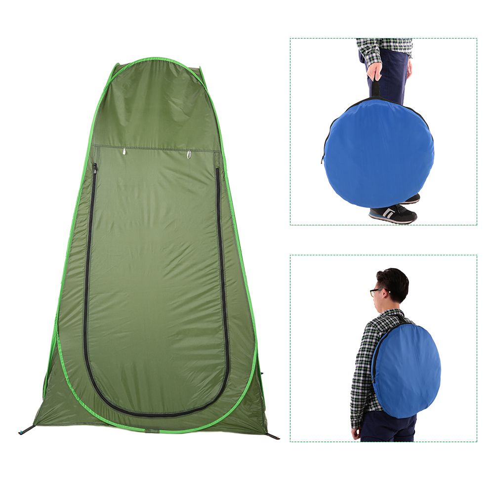 aliexpress com buy portable outdoor shower bath tent pop up aliexpress com buy portable outdoor shower bath tent pop up privacy tent movable changing room tent fitting room camping bathing shower toilet from