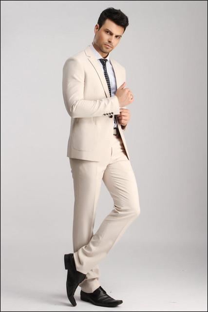 Mens Suits With Pants Tuxedo Beach Wedding Men Groom Tuxedos Groomsman Suit KO5802A