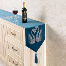 Table Runner Embroidery Gold…