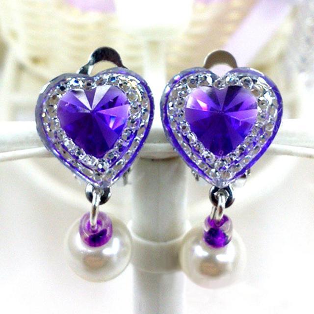 Girls' Heart Shaped Earrings