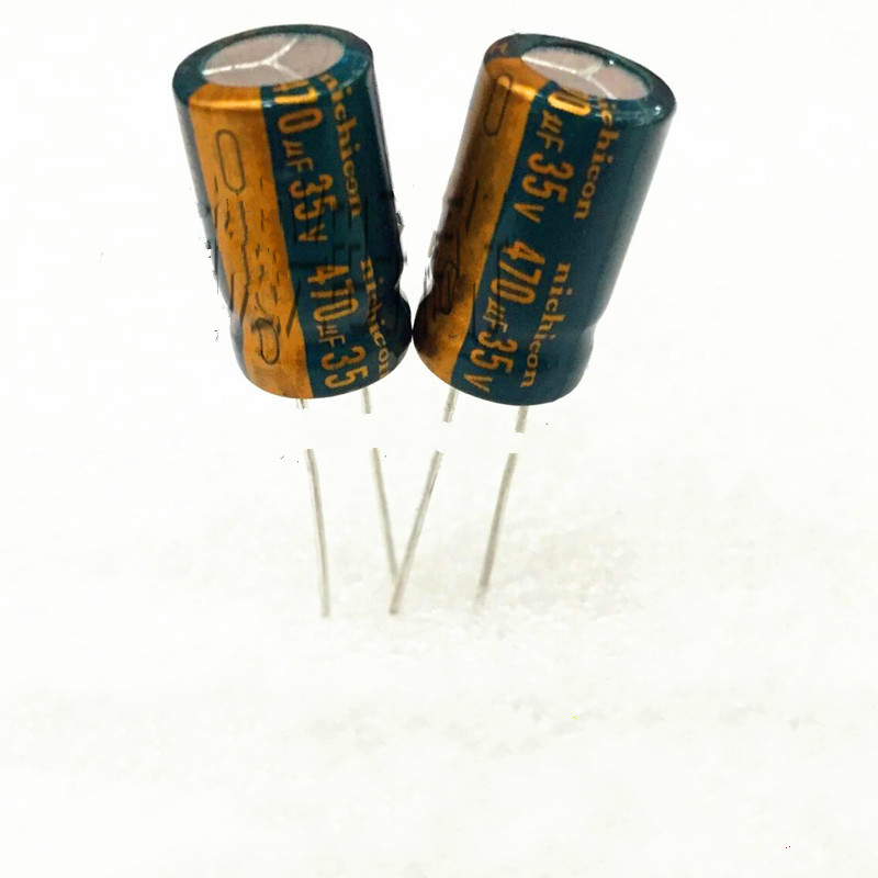 10pcs high quality 35V470UF   High frequency and low resistance   Electrolytic capacitor 470UF 35V 10X16MM 10pcs high quality 25v68uf high frequency and low resistance long life electrolytic capacitor 68uf 25v 5x11