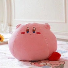 Popular game large size 43CM Kirby cute plush toy doll cartoon soft cushion and pillow Girls favorite gift