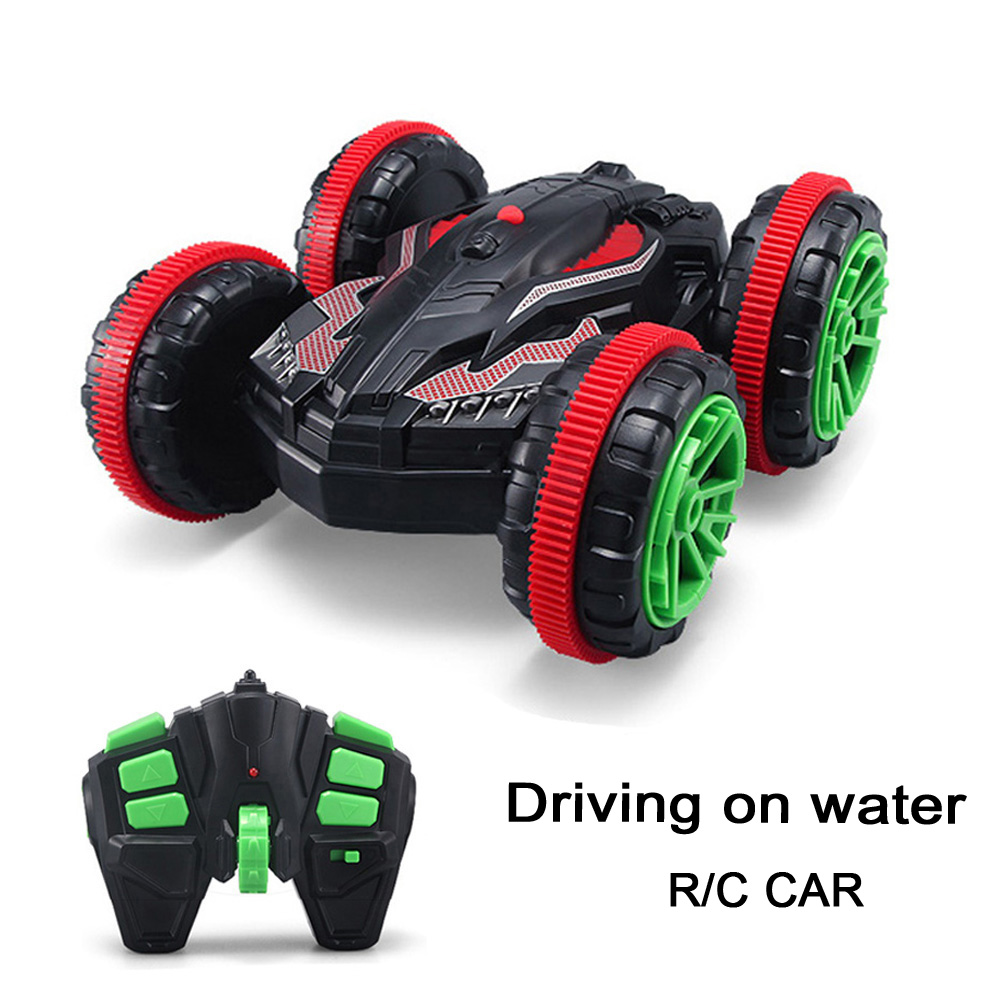 2016 Hot 1 18 2 4GHZ RC Stunt Car Driving on Water Remote Control Car Toy