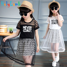 2019 Summer Girls Dress Kids Princess For Girl Short Sleeve Elsa Robe Fille Dresses