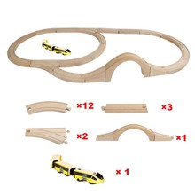 Magnetic Electric Train Set Railway Extension Track High-speed Rail Compatible Electric Track theme Children's Educational Toys electric train toys magnetic electric train high speed rail compatible with thomas train tracks and all kinds of wooden railway