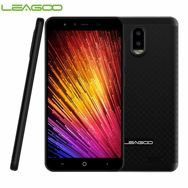 "LEAGOO Z7 4G Smartphone 5,0 ""Android 7,0 Quad Core 3000 mAh 1 GB de RAM 8 GB ROM Dual cámara trasera Dual SIM teléfono móvil"