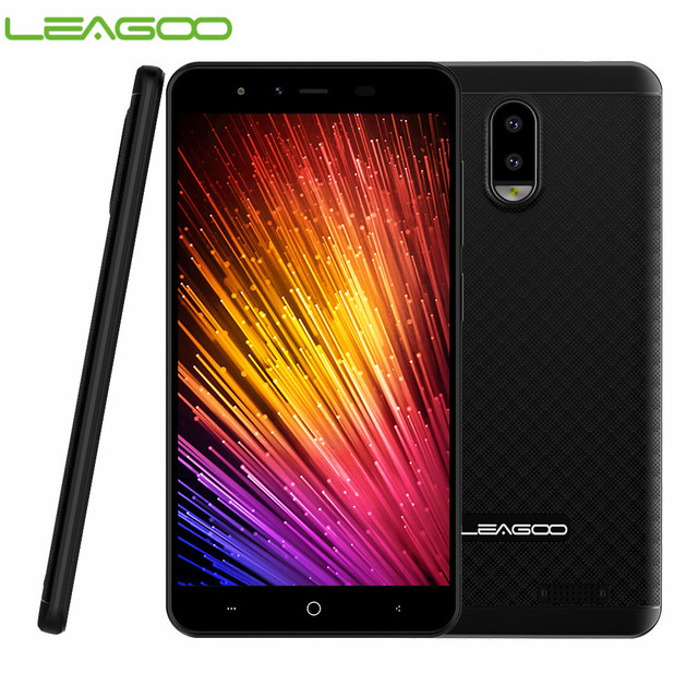 "LEAGOO Z7 4G Smartphone 5.0"" Android 7.0 Quad Core 3000mAh 1GB RAM 8GB ROM Dual Rear Camera Dual SIM Mobile Phone"