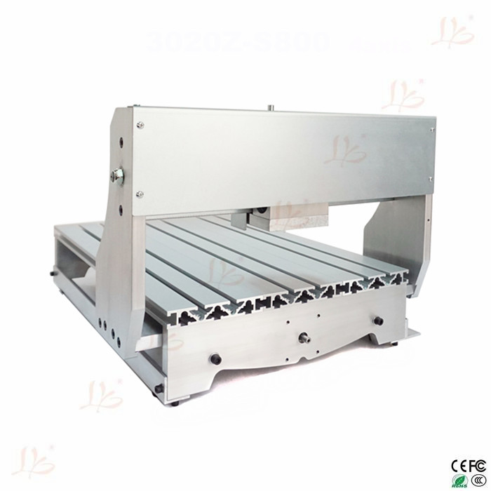 3040 DIY CNC frame lathe kit of milling/engraving machine with ball screw 6040 cnc router frame milling machine mechanical kit ball screw aluminum clamp can interchangeable 80mm