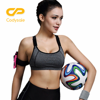 B BANG Women Yoga Top Sports Bra Running Gym Fitness Athletic Bras Padded And Push Up