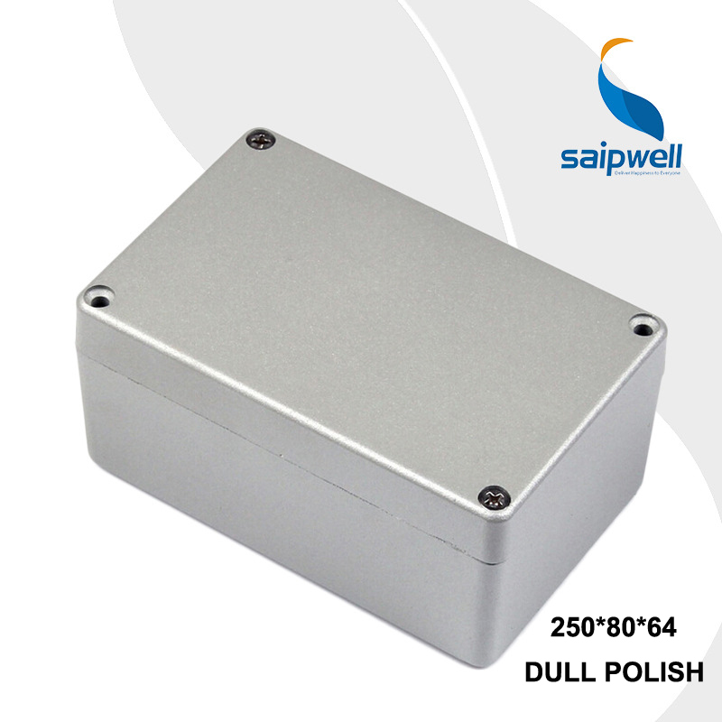 150*100*80mm Size Industrial Waterproof Aluminium Box / Electrical Aluminium Enclosure With CE,ROHS 222 145 55mm sp fa5 industrial waterproof aluminium box electrical aluminium enclosure with ce rohs
