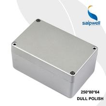 150*100*80mm Size Industrial Waterproof Aluminium Box / Electrical Aluminium Enclosure With CE,ROHS
