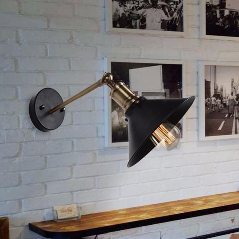 Vintage Painted Iron Retro vintage pendant light Countryside Edison Bulb 110-240v Retro Black Pendant lamp E27 Pendant Light zg9046 pendant light ac 110 240v