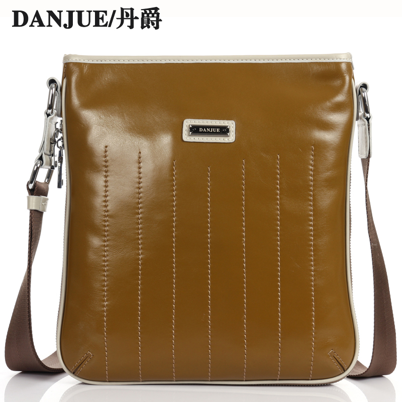 Men Casual genuine cow leather Shoulder crossbody bags Natual Cowhide Crossbody Bags Business Man Ipad Bag Mini High Quality