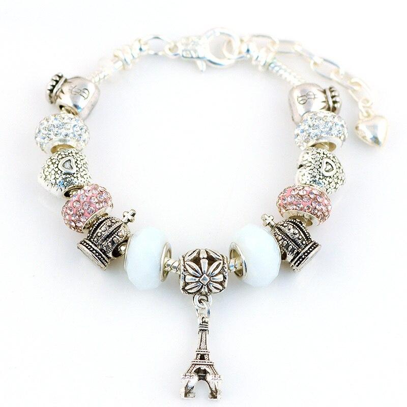 100 abalorios Crackle Mix 8 mm 100 unidades joyas bricolaje perlas decorativas 52