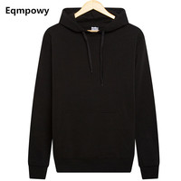 Eqmpowy 2017 Fashion Hooded Funny Solid Colors Men And Women Hoodies Fitness Streetwear Hip Hop Tracksuits