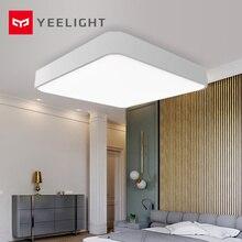 Yeelight teto inteligente quadrado com luz led, controle por aplicativo para quarto e sala de estar