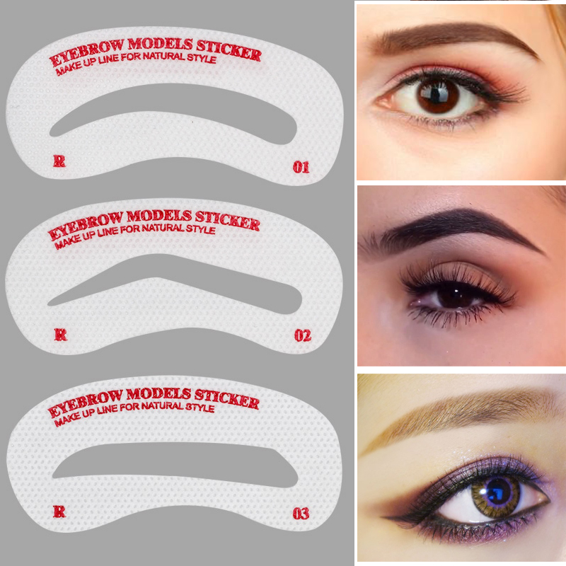 Online buy wholesale eyebrow stencil kit from china for Eyebrow templates printable