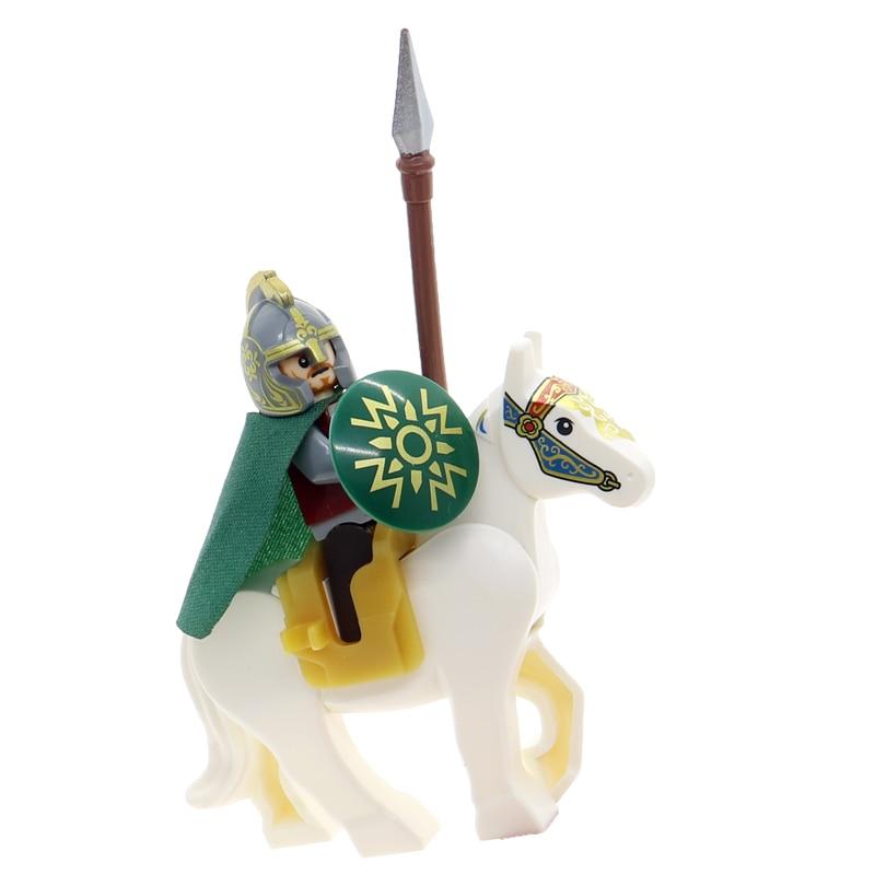 2 teil/satz der herr der ringe hobbit ringwraiths mit schwarz pferd nazgul...