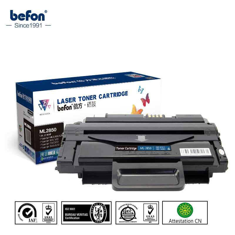 befon Black Toner Cartridge for Samsung ML-2850 2850 Compatible forSamsung  ML-2850 2850D 2851 2851ND samsung lt24е310ex black