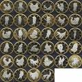 34 шт. Секс 6 Евро Монеты Различной Конструкции Камасутра Позиция Жесткий Памятные HXP001