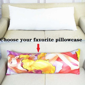 Image 2 - Uzun yastık iç beyaz vücut yastık pedi Anime dikdörtgen uyku şekerleme yastığı ev yatak odası beyaz yatak aksesuarları 150x50CM