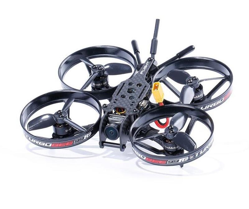 TurboBee 99R intérieur FPV course Drone 2 S entrée Kit quadrirotor pour RC FPV course aéronef sans pilote (UAV) avion bricolage pièces