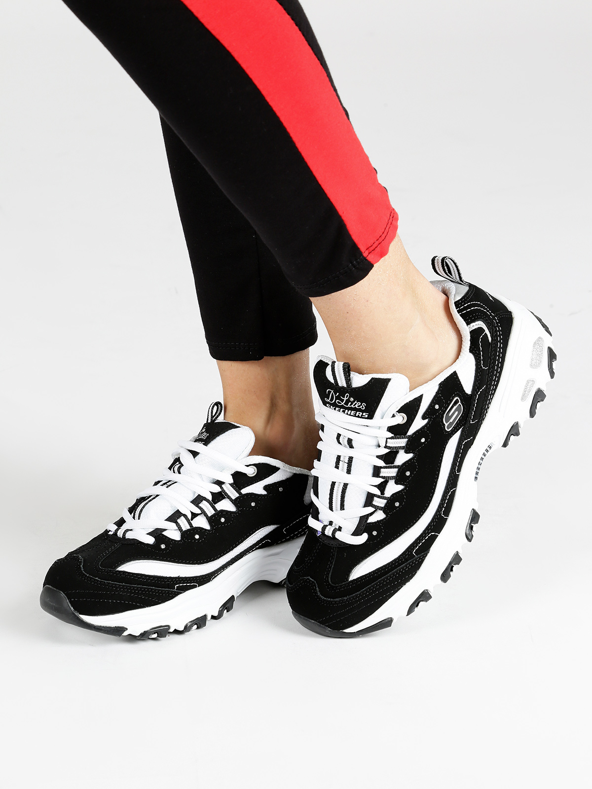 DLITE-sport Shoes Black And White