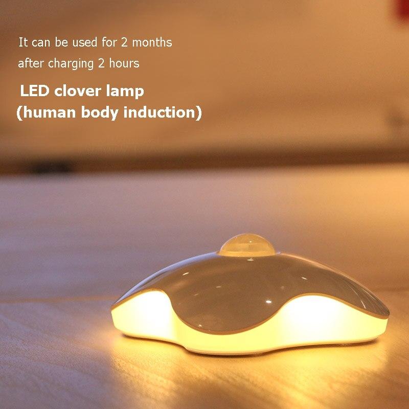 Wireless Motion Sensor Light Battery Power Night Light For Cabinet Drawer Staircase Workshop Bedroom Garage Lamp