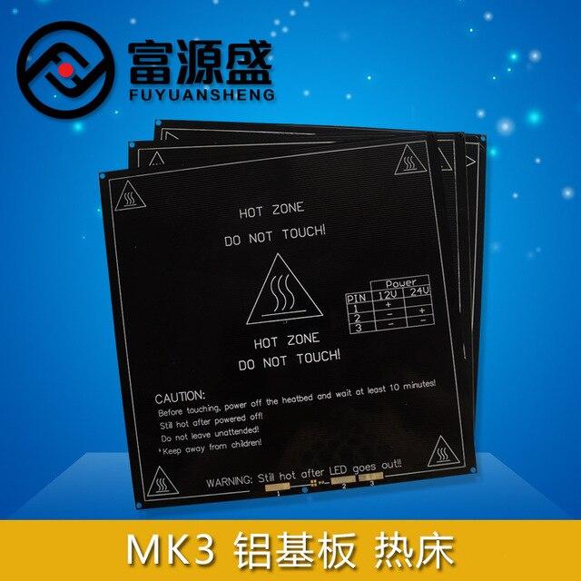 Horizon Elephant Reprap 3D Printer 214x214mm MK3 Heated Bed Aluminum Heating  Hot Bed Reprap Heating Bed