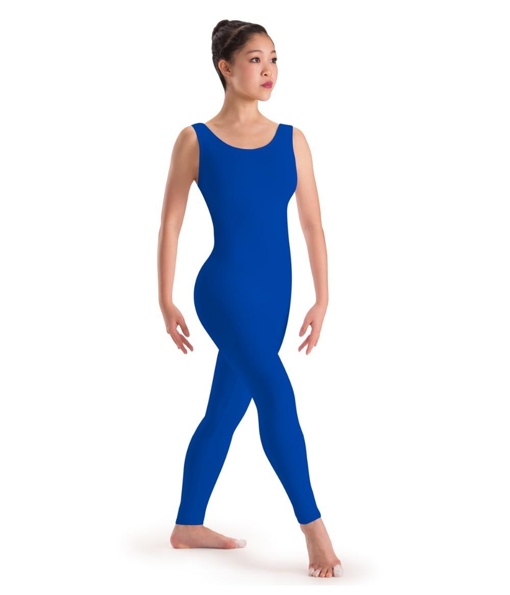 Blue dress plus size unitard