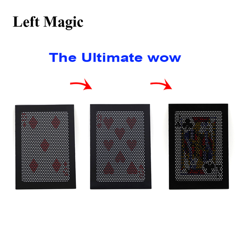 The Ultimate WOW 3.0 Version Change Twice Ultimate Exchange Magic Tricks Illusion Mentalism Prop Magia Toy Accessories