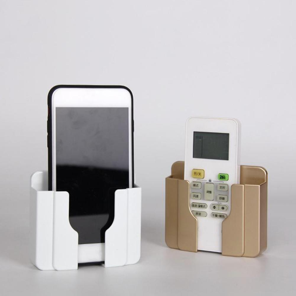 Decoration Wall Holder Phone Charging Holder Socket Charger Storage Box Mobile Phone Holder Universal Stand Display Support