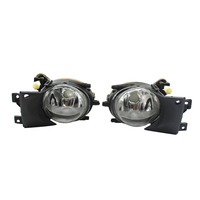 1 Pair Left & Right Front Fog Light without Bulbs Replacement Kit for BMW E39 1999 2004
