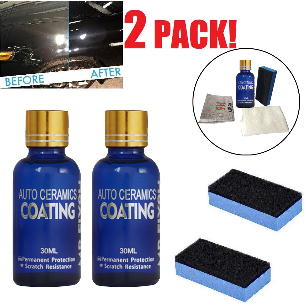 CARPRIE 2x Car Ceramic MR.FIX 9H Polish Nano Glass Coat Anti-Scratch Auto H9 Hardness Oct19(China)
