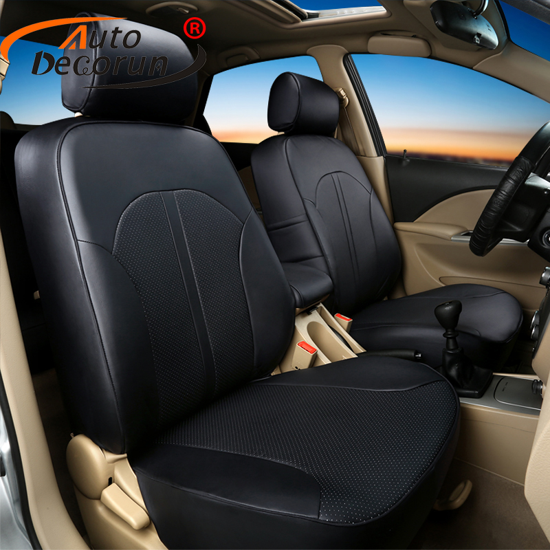 AutoDecorun Custom fit car seat covers for Volkswagen multivan T5 seat cover for VW seat cushion PU leather cover seats supports
