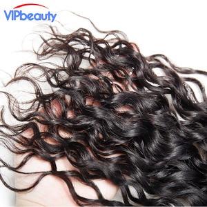 Image 5 - Vip יופי ברזילאי מים גל רמי שיער 4x4 תחרה סגר משלוח חלק 100% שיער טבעי סגירת טבעי צבע 12  18 אינץ