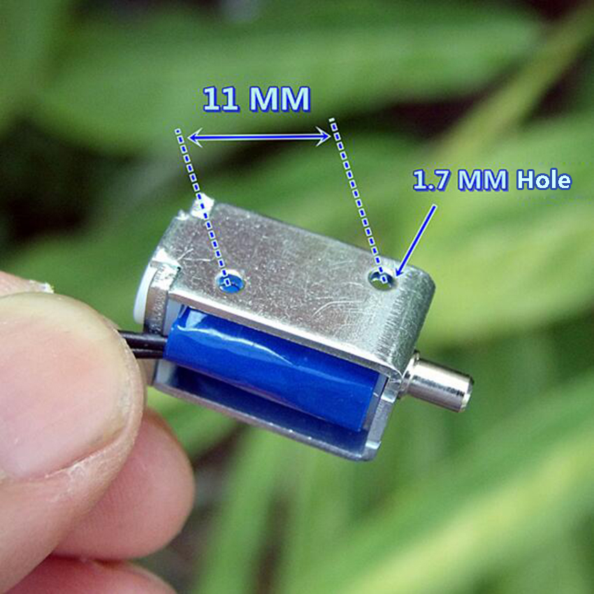 1PC 3V Dc 75mA solenoid electronic blood pressure solenoid pressure gauge valve DC exhaust valve in Valve from Home Improvement