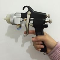 SAT1182 gemengde gelcoat spray dubbele nozzle spuitpistool verf hvlp dual hoofd pneumatische gereedschappen