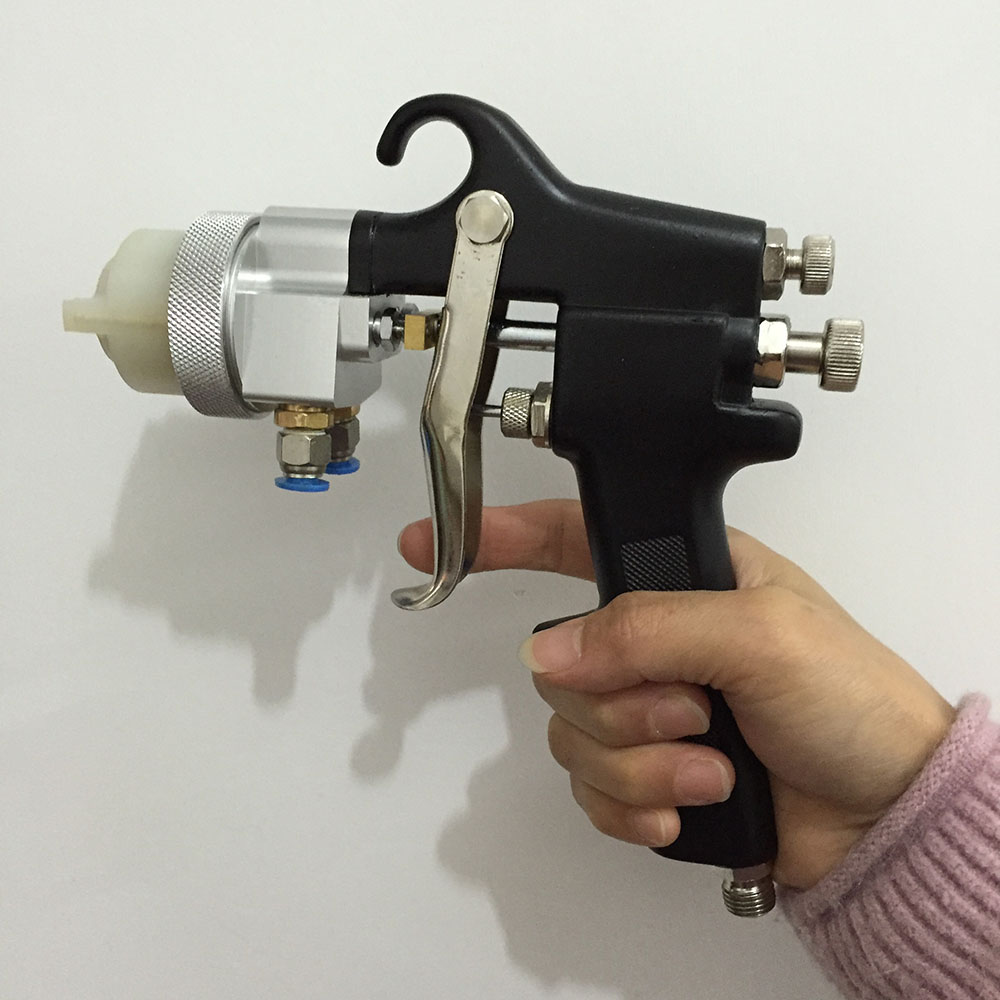 SAT1182 mixed gelcoat spray double nozzle spray gun paint hvlp dual head pneumatic tools цена